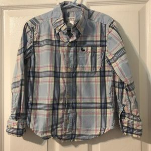 Boys Carters Long Sleeve Button Down 4T
